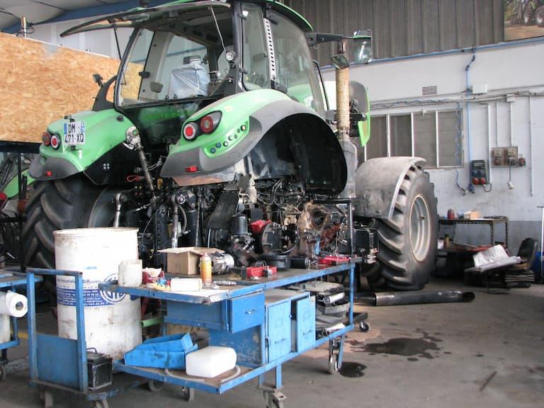 logiciel pour garage agricole