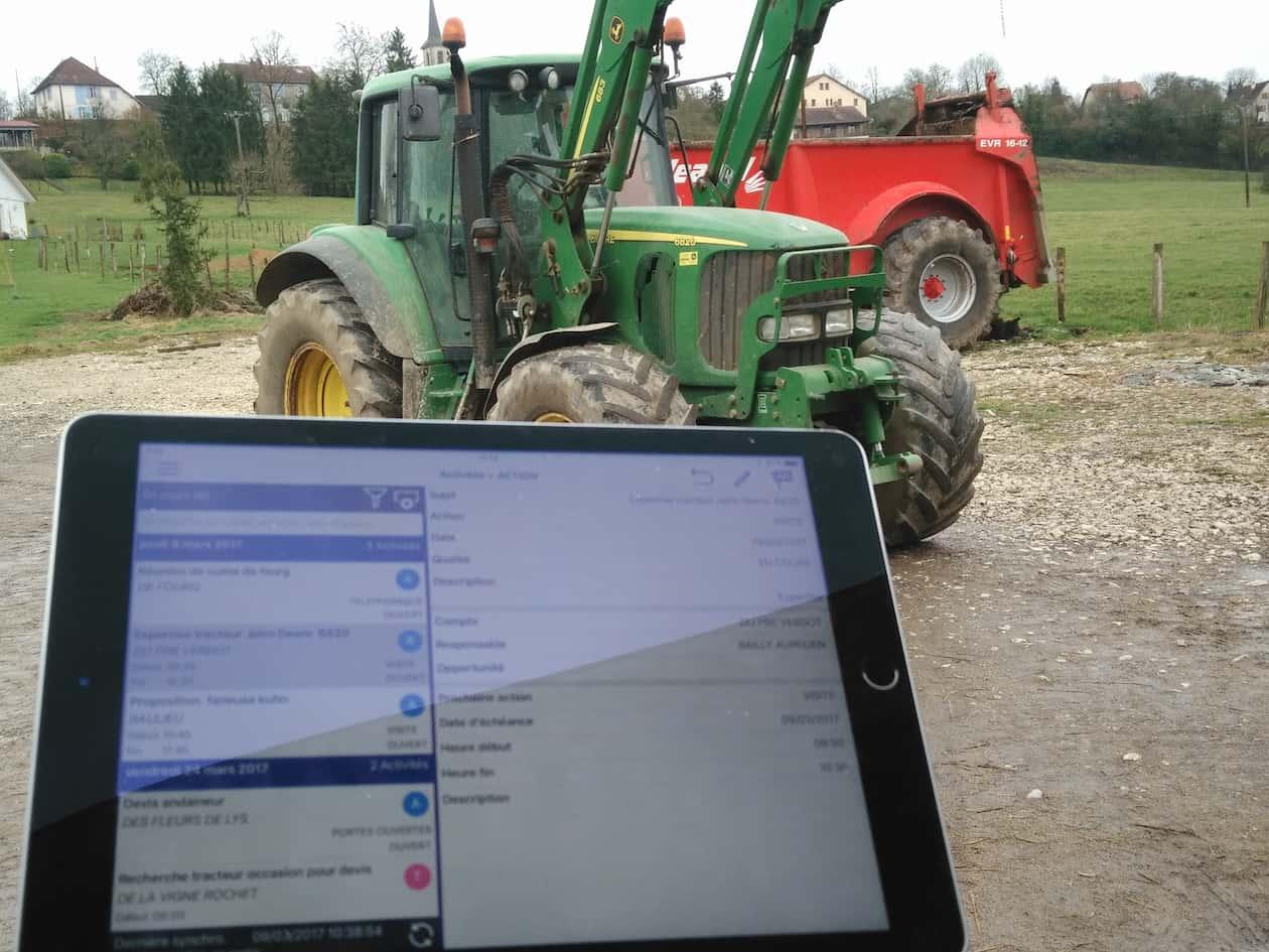 Logiciel Machinisme agricole